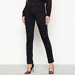 Principles - Black dark wash 'Figure Define' slim leg jeans