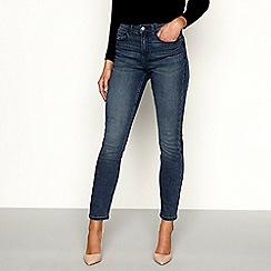 Principles - Blue cotton blend denim slim jeans