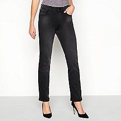 Principles - Grey 'Twill' slim fit jeans