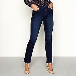 Principles - Blue modal blend denim straight leg jeans