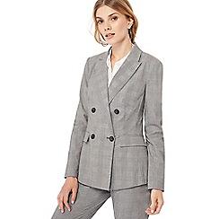 Principles - Grey check print jacket
