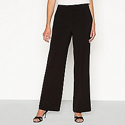 Principles - Black wide leg suit trousers
