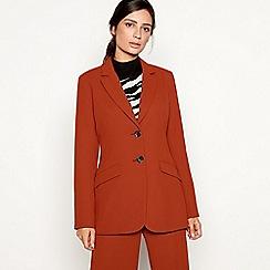 Principles - Dark tan 'Tobacco' suit jacket
