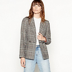 Principles - Multicoloured check print smart jacket