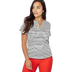 Principles Petite - Black striped petite top