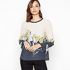 Principles - Natural Floral Spot Print Blouse