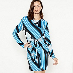Principles - Blue striped 'Marina' tunic dress