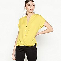 Principles - Yellow Twist Front Top
