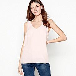 Principles - Pink Plain Sleeveless Top