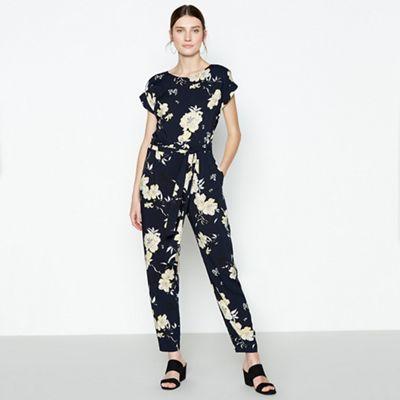 0b957dd7ac0 Principles Navy Floral Print Jumpsuit