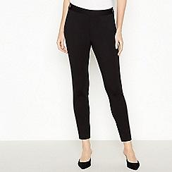 Principles - Black Ponte Slim Leg Trousers