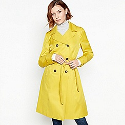 Principles - Lime Cotton Blend Rain and Shine Mac