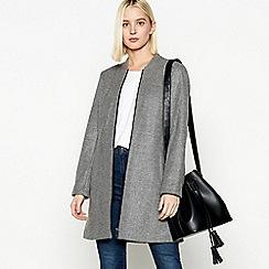 Principles Petite - Grey Longline Petite Jacket
