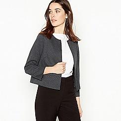 Principles Petite - Grey Ponte Petite Jacket