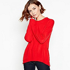 Principles - Red Crew Neck Jumper