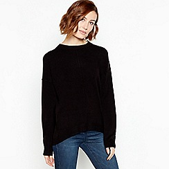 Principles - Black Crew Neck Jumper