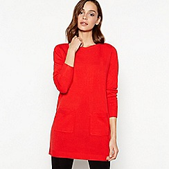 Principles - Red 'Supersoft' Tunic Top