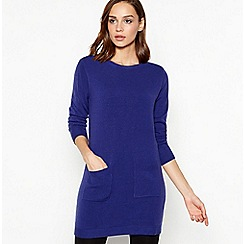Principles - Blue 'Supersoft' Tunic Top