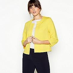 Principles - Yellow Textured Jacket