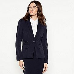 Principles - Black zip trim suit jacket