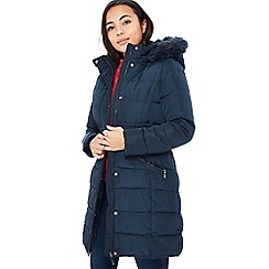 Principles - Navy Padded Petite Jacket