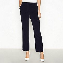 Principles Petite - Navy Petite Straight Leg Suit Trousers
