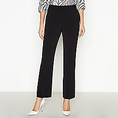 Principles Petite - Black Petite Straight Leg Suit Trousers