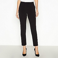 Principles Petite - Black Petite Slim Leg Trousers