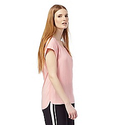 Principles Petite by Ben de Lisi - Pink pebble grained petite top