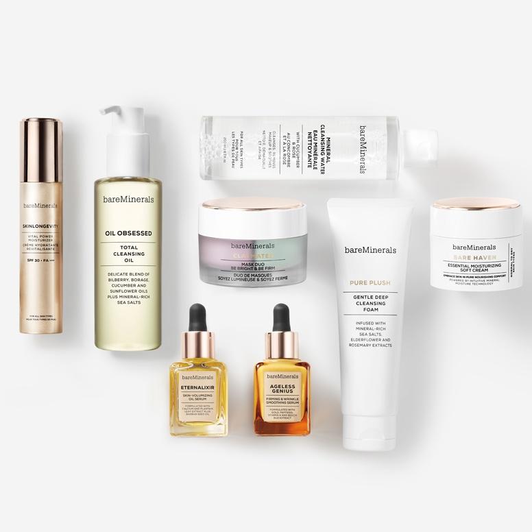 bare minerals skin care