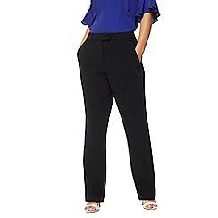 Principles Petite - Black straight leg petite suit trousers