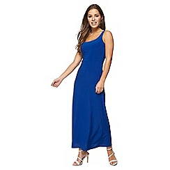 Principles Petite - Royal blue sleeveless petite maxi dress