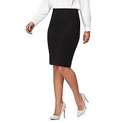 Principles Petite - Black ponte petite skirt