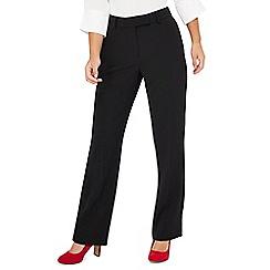 Principles Petite - Black straight fit petite suit trousers