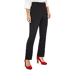 Principles Petite - Black slim fit trousers