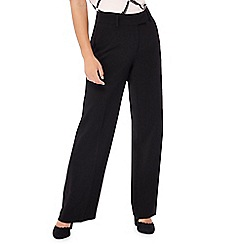 Principles - Black wide leg petite suit trousers