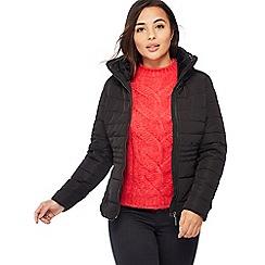 Principles Petite - Black Quilted Petite Jacket