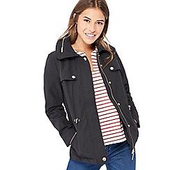Principles - Black petite utility jacket