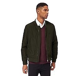 J by Jasper Conran - Khaki bomber jacket
