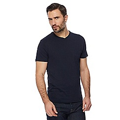 J by Jasper Conran - Navy V-neck t-shirt