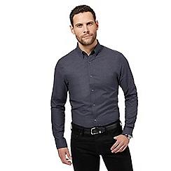 J by Jasper Conran - Navy textured shirt