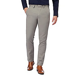 J by Jasper Conran - Taupe 'Ottoman' chinos