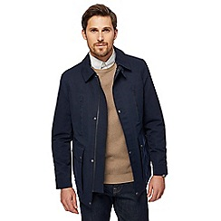 J by Jasper Conran - Big and tall navy collared jacket