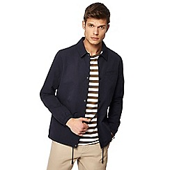 J by Jasper Conran - Navy shower resistant coach jacket