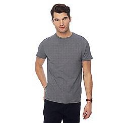 J by Jasper Conran - Navy stripe crew neck t-shirt