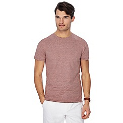 J by Jasper Conran - Red plain t-shirt