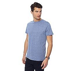 J by Jasper Conran - Blue stripe crew neck t-shirt