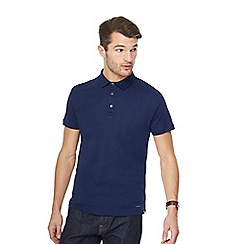 J by Jasper Conran - Royal Supima cotton polo shirt