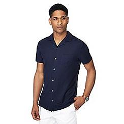 J by Jasper Conran - Navy short sleeve shirt