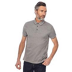 J by Jasper Conran - Khaki mini birdseye polo shirt